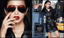Alia Bhatt slays it in black for Maybelline! - News