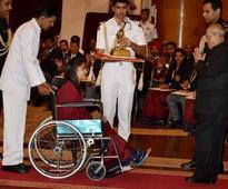 Rio Olympics 2016: Sakshi Malik, Vinesh Phogat and Lalita Babar star in Khel Ratna award ceremony