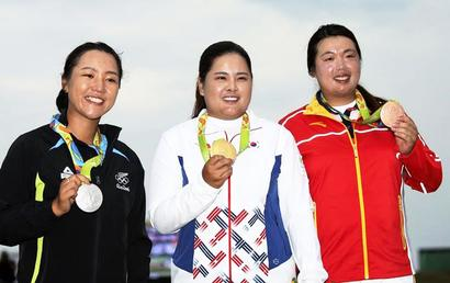 Park silences doubters with golf gold at Rio