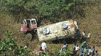 Two, including driver, killer as milk tanker skids on Malshej Ghat Highway