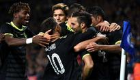 Capital One Cup: Cesc Fabregas helps Chelsea FC pip Leicester City 4-2