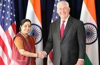 Sushma Swaraj meets US Secretary, discusses bilateral ties