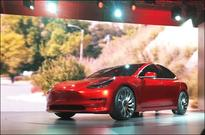 Tesla aims to start pilot production of Model 3 cars on Feb. 20 - sources