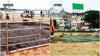 BMC demolishes MLA Lodha's kabutarkhana at Chowpatty
