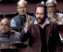 Congress MP moves privilege motion against Mukhtar Abbas Naqvi in Rajya Sabha