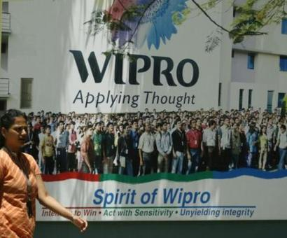 Wipro net profit grows marginally, co unveils bonus issue