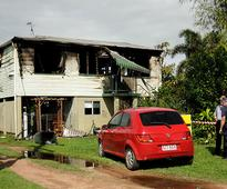 Family's second-storey escape from fire