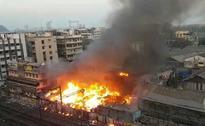Huge Fire Breaks Out At South Mumbai Slum, 6 Injured