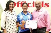 Trisha wins national table tennis title