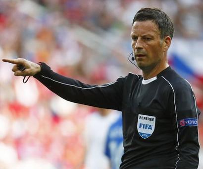 England's Clattenburg to referee Euro 2016 final