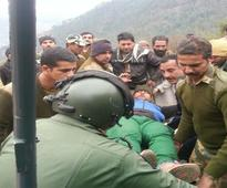 In Pics: IAF pilots save the day, rescue 10 people from snowbound Kishtwar