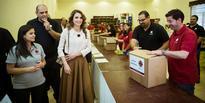 Queen visits Caritas Jordan projects in Ramadan