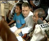 Despite being denied permission, Rahul visits riot-torn Saharanpur