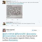 Mumbai: MMRC Officials and Aarey conservationists fight on Twitter