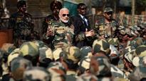 PM Modi celebrates Diwali with soldiers in J&K's Gurez, calls them his 'family'