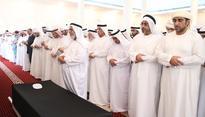 RAK Ruler performs funeral prayer of Alya Bint Kayed Al Qasimi