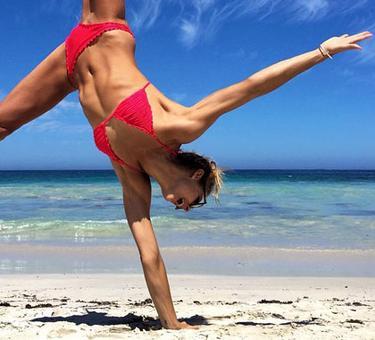 She conquered chronic fatigue to become a fitness guru