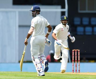 Those 100 runs by Ashwin and Saha will help us: Rahul