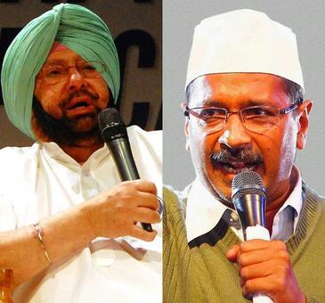 Kejriwal, Amrinder in ugly Twitter spat