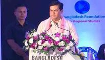 India, Bangladesh should fight terrorism, poverty together: Assam CM