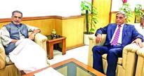 Hanjura calls on Union Agri Minister