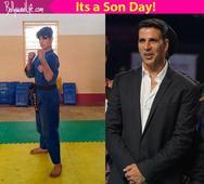 It's a SON Day for Akshay Kumar, courtesy Aarav!