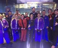 Veterans Fly High While Indoor Skydiving with Wounded Warrior Project