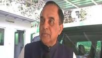 Sasikala much better than 'violent', 'anti-national' DMK: Swamy