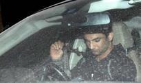 What was Sushant Singh Rajput doing outside Kriti Sanon's Bandra residence?
