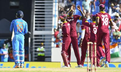 When bad shots and West Indian belief did India in at Antigua