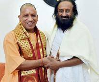 Result of Ayodhya talks already known: Yogi on Sri Sri's mediation efforts
