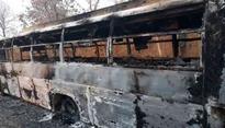 Naxals torches buses, trucks as revenge