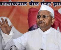 Anna Hazare accuses Modi govt of 'soft