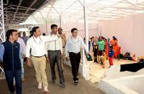 CEO Shrine Board inspects facilities for pilgrims