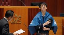 Hong Kong MPs defy China during swearing-in ceremony