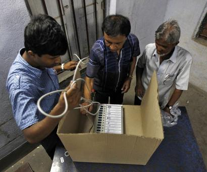 EVM tampering row hits Parliament