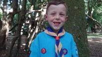 Bear Grylls hails six-year-old hero scout who helped save a life
