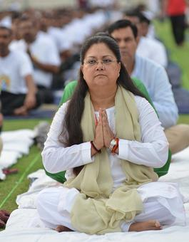 Yoga Day: Look who's leading by example