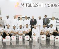 Z-Corp, Mitsubishi Oman fetes national handball team