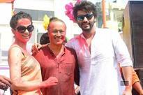 Vineet Jain hosts the Holi Party in Mumbai