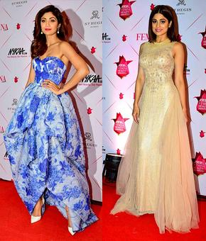 Shilpa, Shahid, Vaani at their stylish best