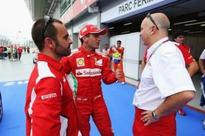 All is calm at Ferrari insists test driver Marc Gene