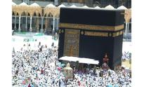 Worshippers witness sun's alignment with Kaaba