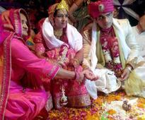 In photos: Geeta Phogat marriage; Dangal star Aamir Khan, Sakshi Malik attend