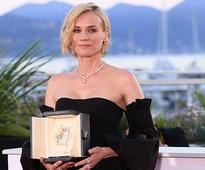 Jackson happy for ex Diane Kruger on Cannes best actress win