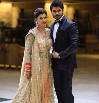 PIX: Sambhavna Seth's wedding reception