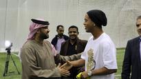 Football legend Ronaldinho to visit Dubai