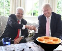 Donald Trump's Bollywood binge in New Jersey