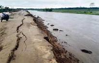 Ranganadi dyke damaged in North Lakhimpur
