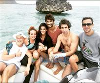 Check out Raabta stars Kriti Sanon and Sushant Singh Rajput went snorkeling on last day in Mauritius
